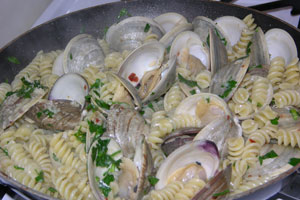 Pasta-with-Clams