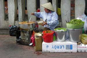 Vietnamese Street Food (Recipe: Bun Cha)