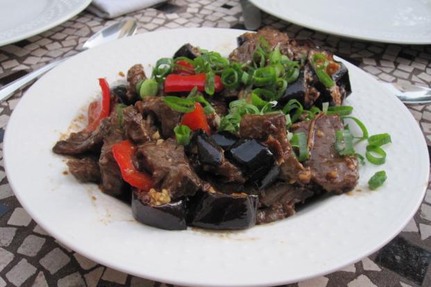 Eggplant-beef