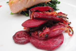 Beets-salmon
