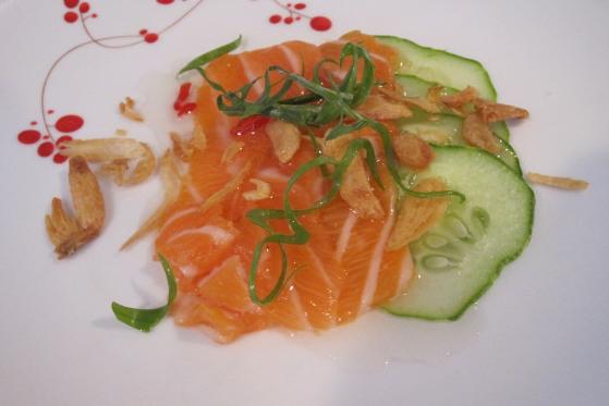 Salmon carp