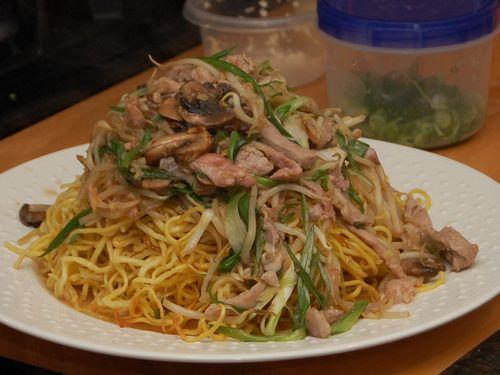 Longveity noodles